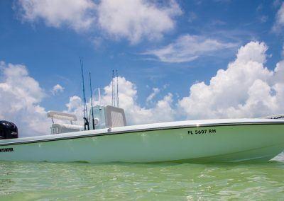 Contender 25 Bay Boat