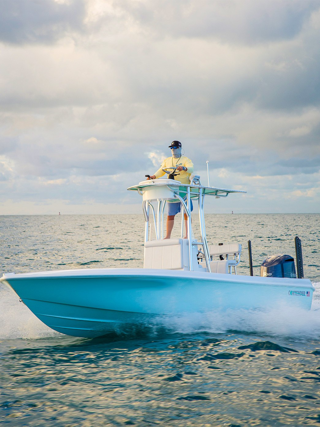 Contender 25Bay w/ second station yamaha helm control