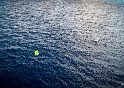 Contender 25T - Kitefishing SFE Kites from Drone