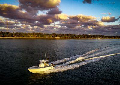 Contender 25T - running Key Biscayne, FL - Cape Florida