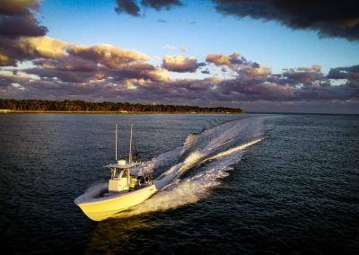 Contender 25T - running Key Biscayne, FL 1