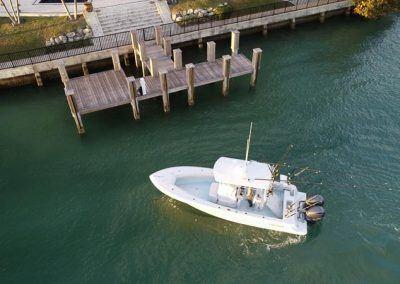 Contender 25T - running Key Biscayne, FL
