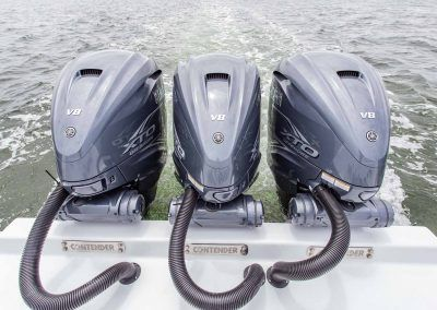 Triple Yamaha 425XTO Engines