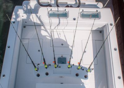 Deck and Transom w/ Rocket Launcher