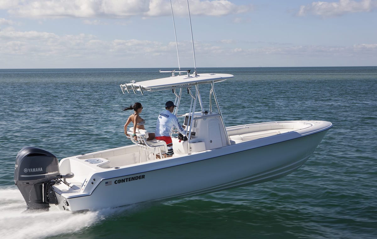 Sport Series Boats - Contender Luxury Family Fishing Boats ...