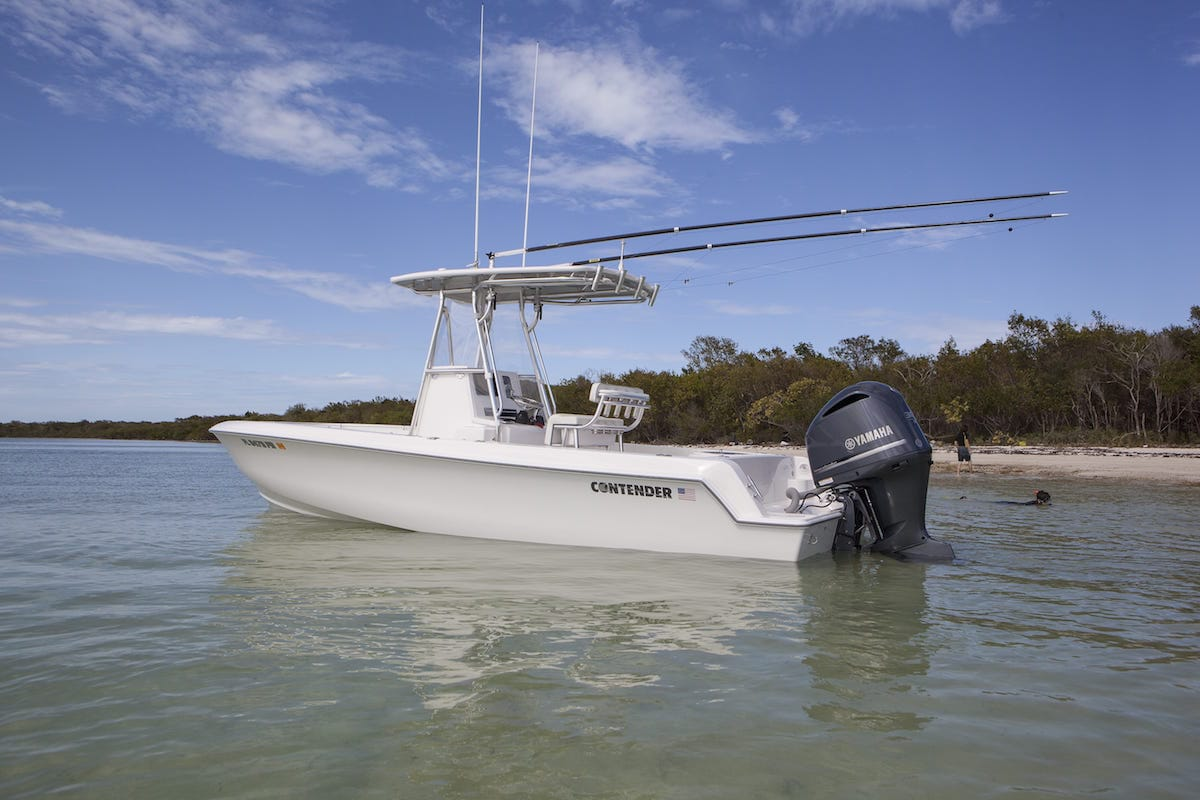 Sport series boats contender offshore fishing boats for Off shore fishing boats