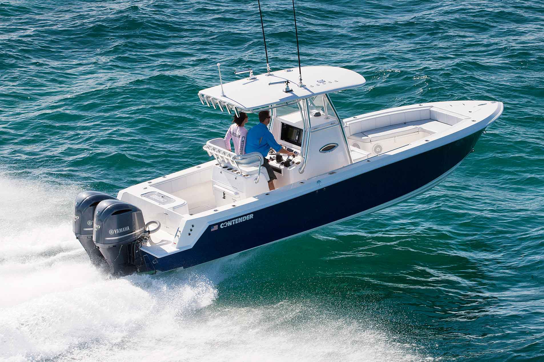 Sport series boats contender offshore fishing boats for Offshore fishing boats
