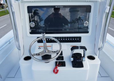 Recessed Electronic Box - Contender 25T Helm Console