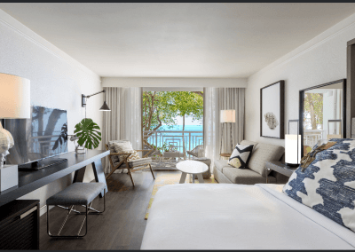 Bakers Caye - guest room