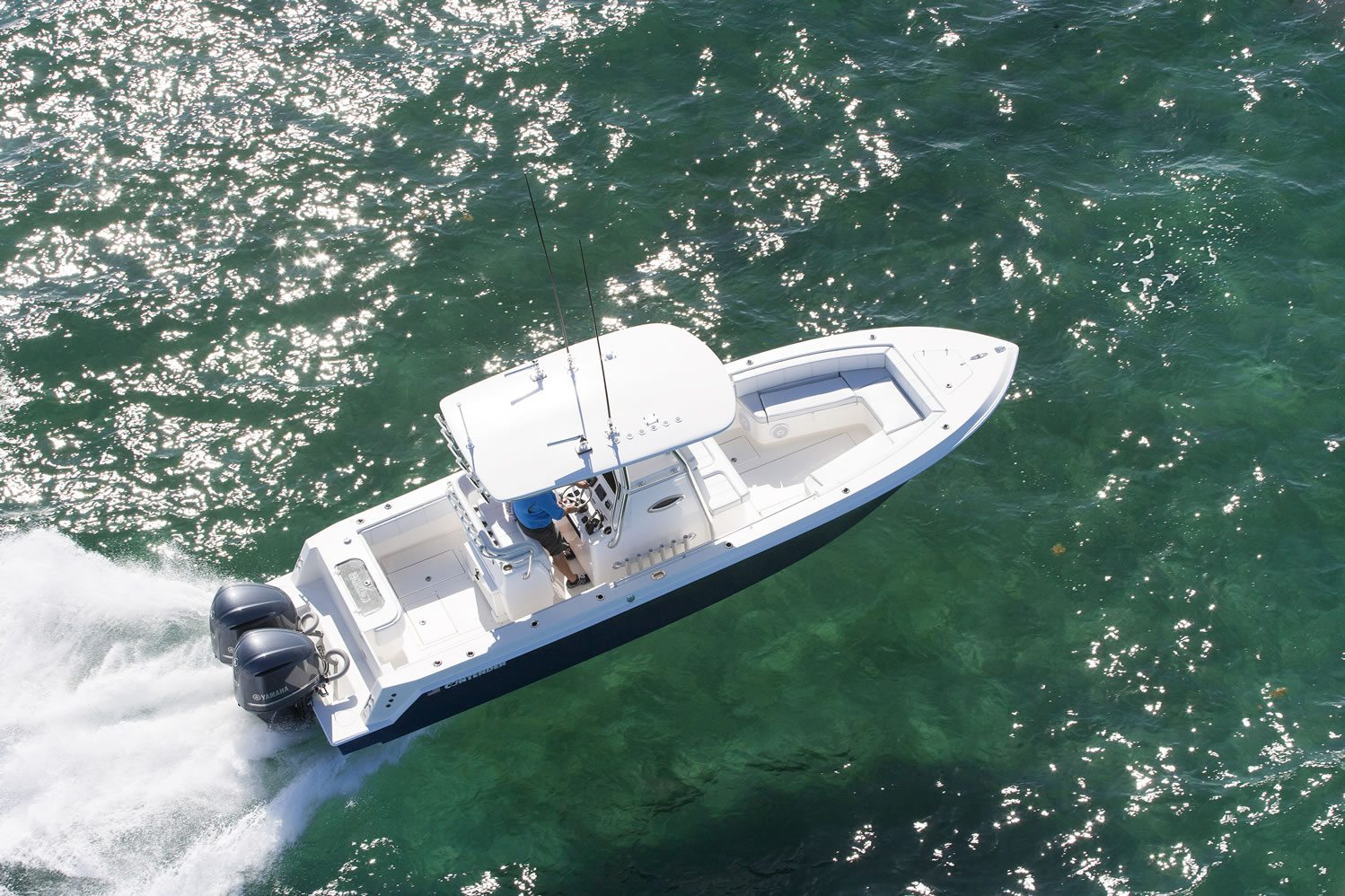 28S Contender Fishing Boat - Contender Boats