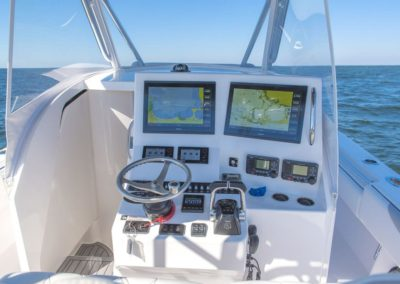 Helm Station with Garmin Electronics and FA Cabin